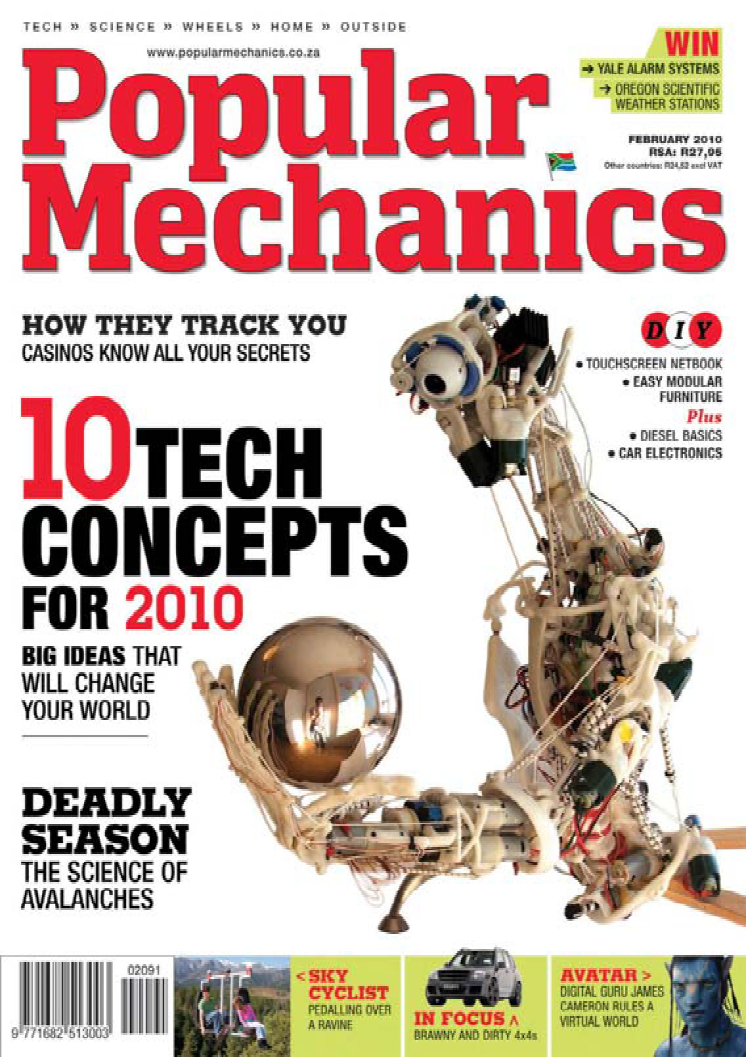 ECCEROBOT in Popular Mechanics